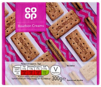 Co-op Bourbon Cream Biscuits 300g