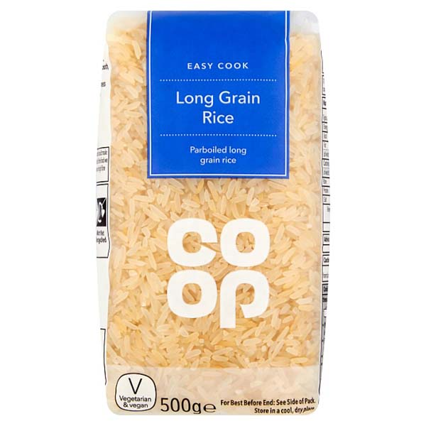 Co-op Long Grain Rice 500g