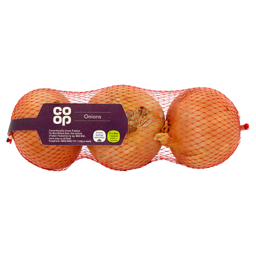 Co-op Onions 3 Pack