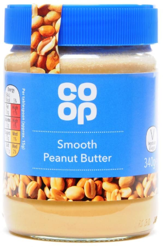Co-op Smooth Peanut Butter 340g