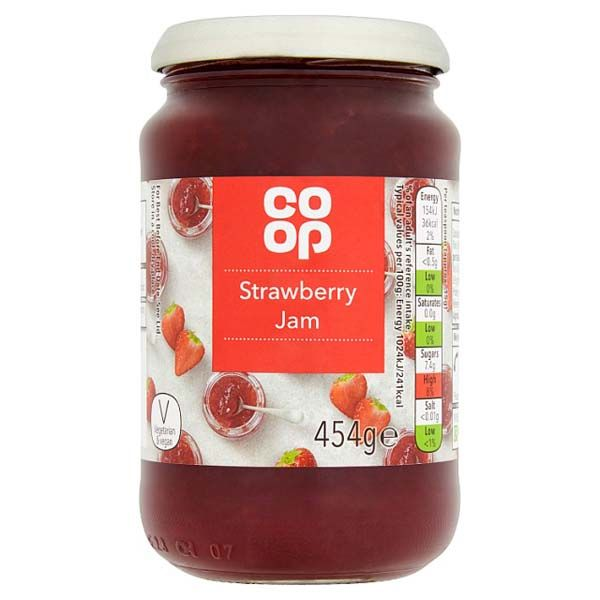 Co-op Strawberry Jam 454g