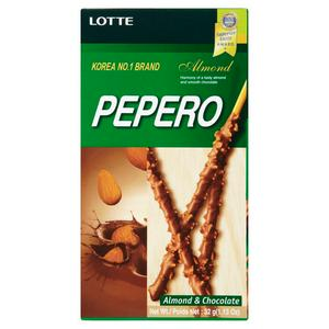Lotte Almond Peppero 50g