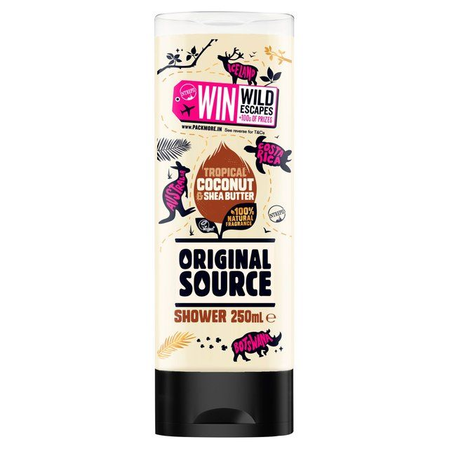 Original Source Tropical coconut and Shea Butter Shower Gel 250ml