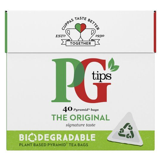 Pg Tips 40 Pyramid Teabags 116g