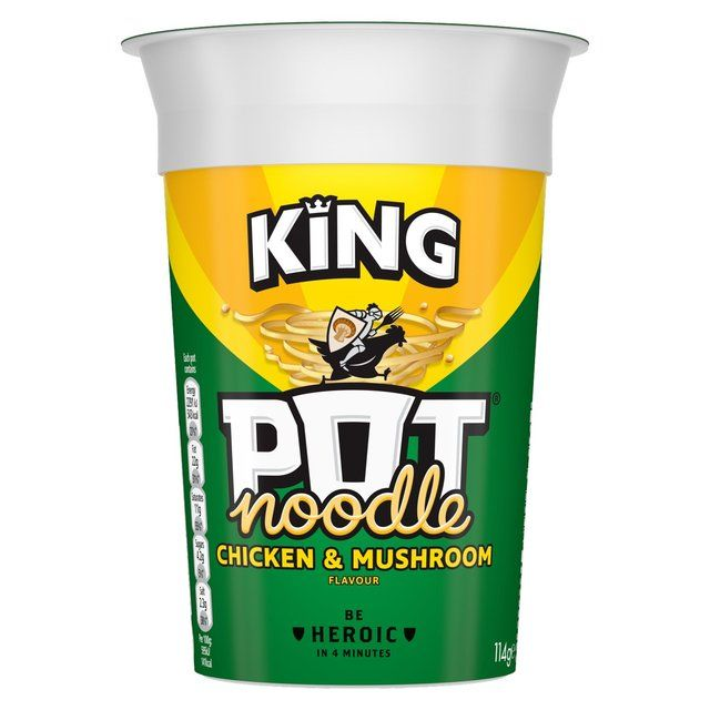 Pot Noodle Chicken & Mushroom King Size 114g