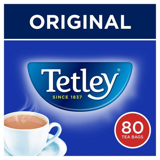Tetley Softpack Teabags 80 Pack 250g