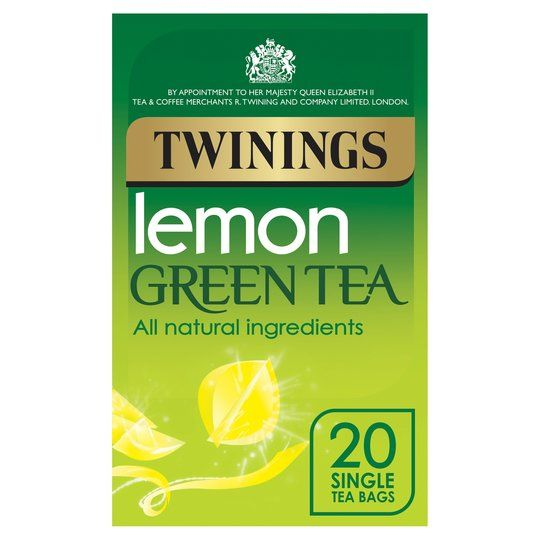 Twinings 20 Green Tea And Lemon Tea 40g