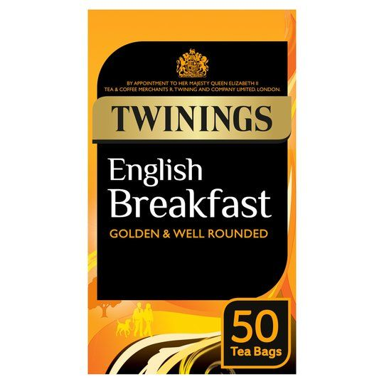 Twinings English Breakfast 50 Teabags 125g