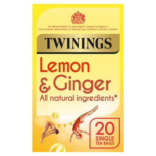 Twinings Lemon & Ginger 20 Teabags 30g