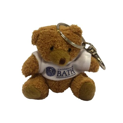 University of Bath Robbie Bear Keyring