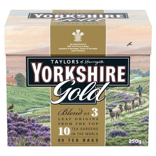 Yorkshire Gold 80 Teabags 250g